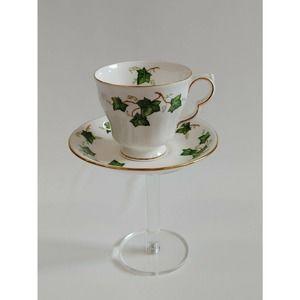 Vintage Colclough Ivy Leaf Cup & Saucer Bone China